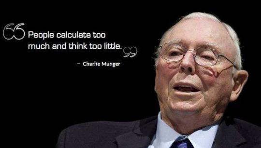 查理·芒格的生活、学习和决策方法