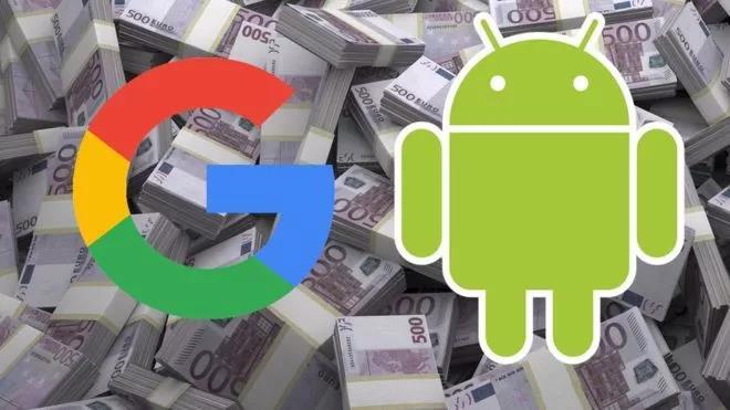 都怪安卓:欧盟向谷歌开出天价罚单