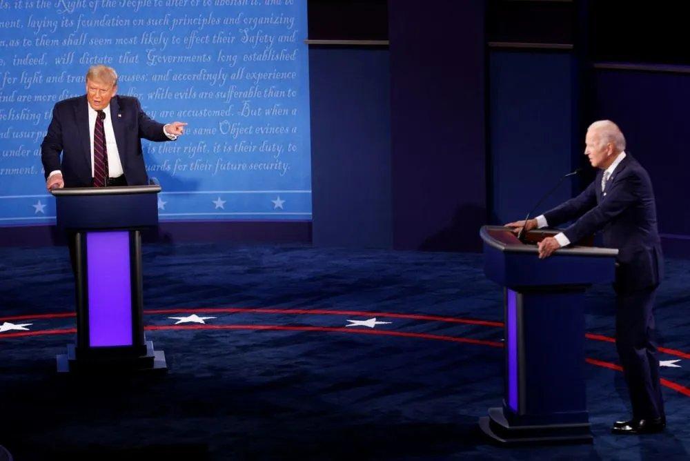 疫情下的美国大选辩论,真的只是一场闹剧吗?